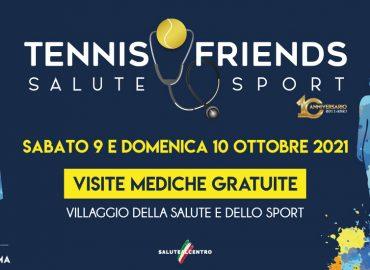 """Torna a Roma """"Tennis & Friends - Salute e Sport"""": l'Associazione Gaia in prima linea"""